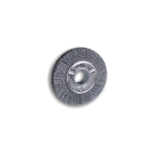 150mm Crimped Wire Wheels - Steel