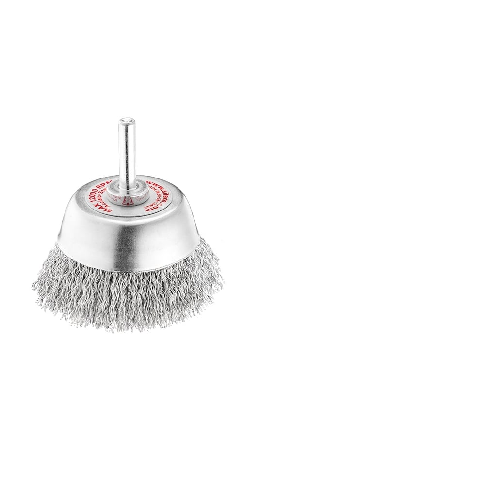 65mm Diameter 0.30 Steel Crimped Cup Brush