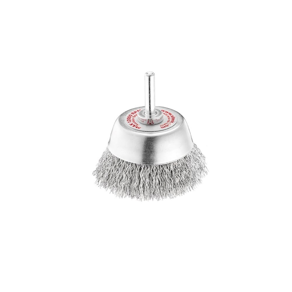 70 mm Diameter 0.30 Steel Crimped Cup Brush