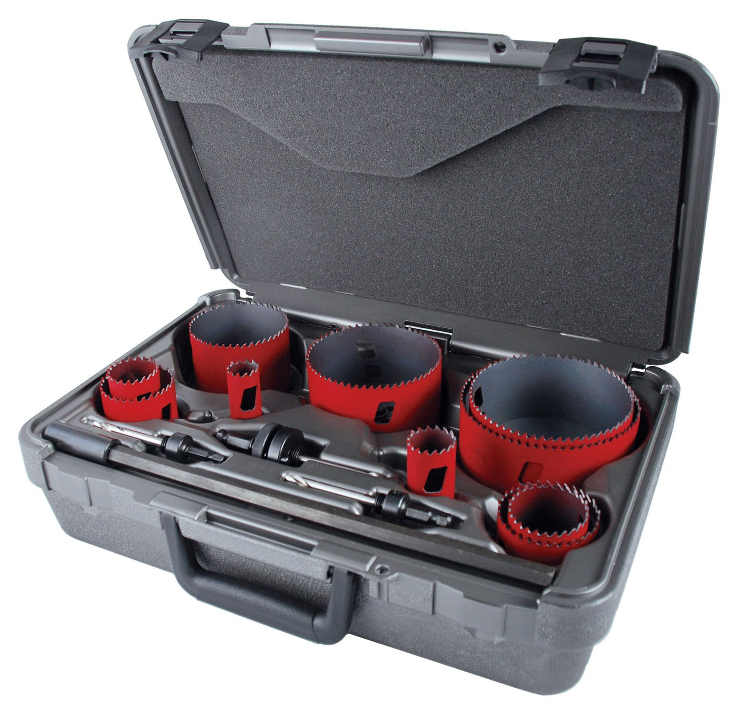 "13 Piece ""Master Electrical"" Bi-Metal MHS Hole Saw Kit"
