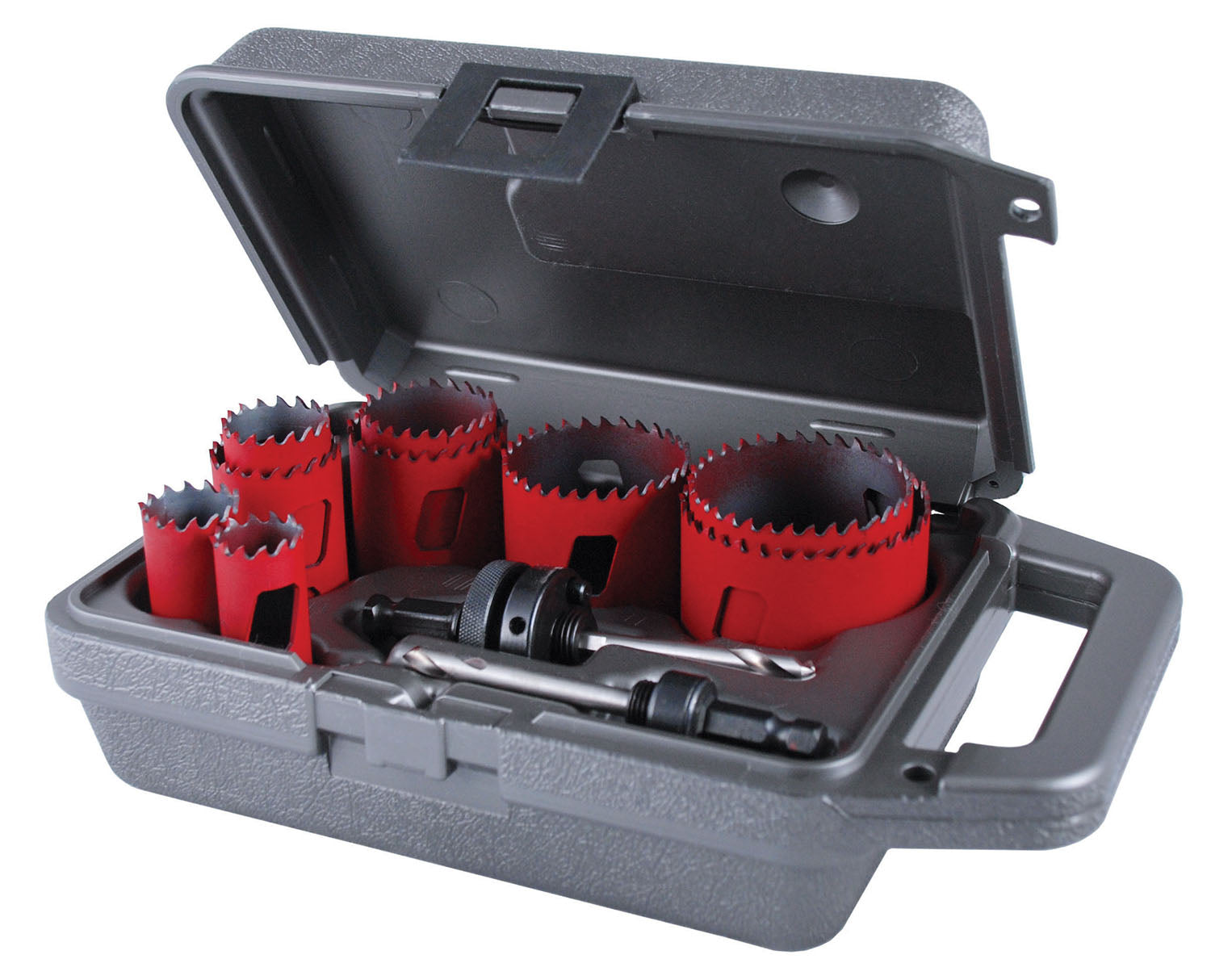 "11 Piece ""Maintenance"" Bi-Metal MHS Hole Saw Kit"