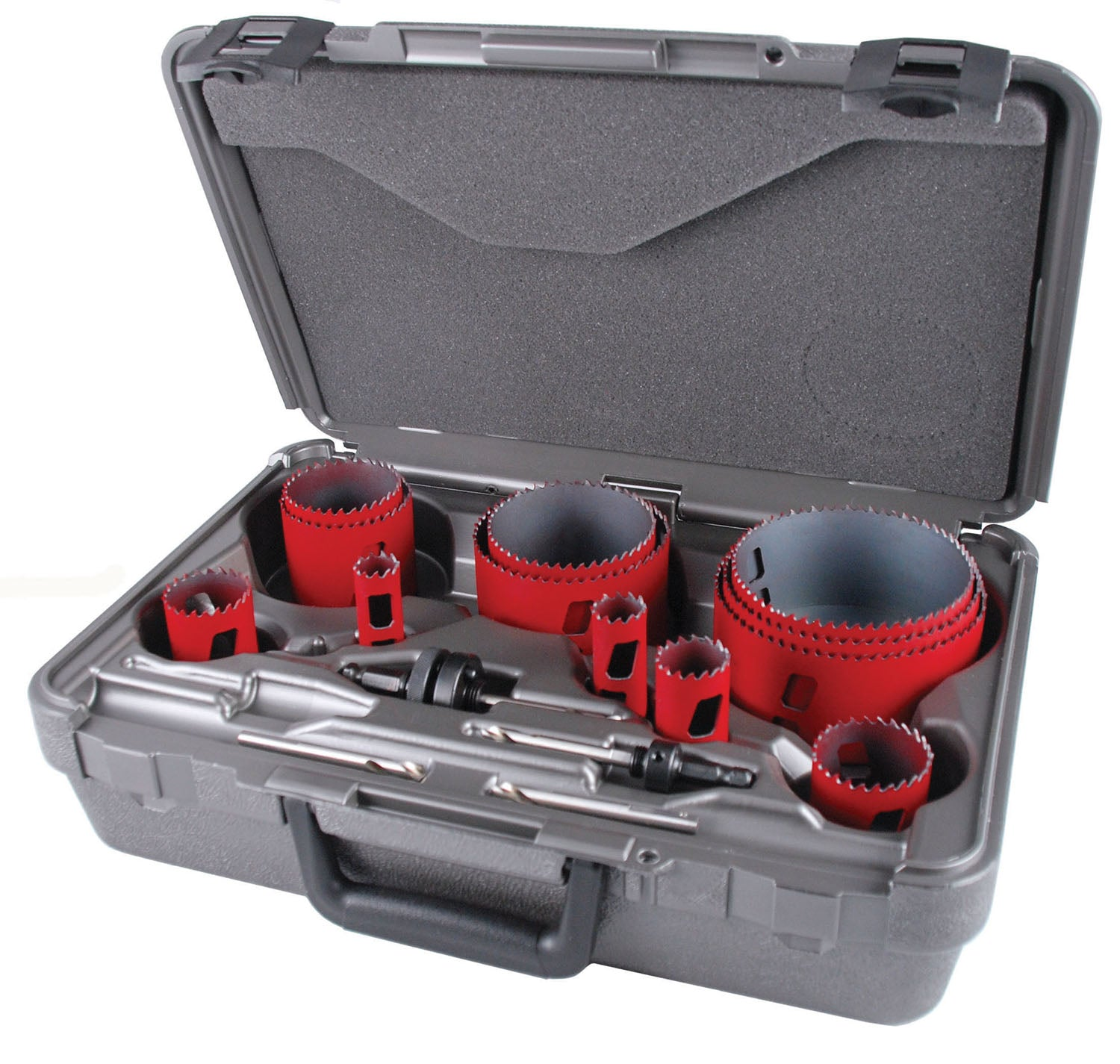 "16 Piece ""Plumber"" Bi-metal Master Cobalt AV Hole Saw Kit"