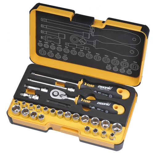 SOCKET & BIT SETS R GO 27 pc