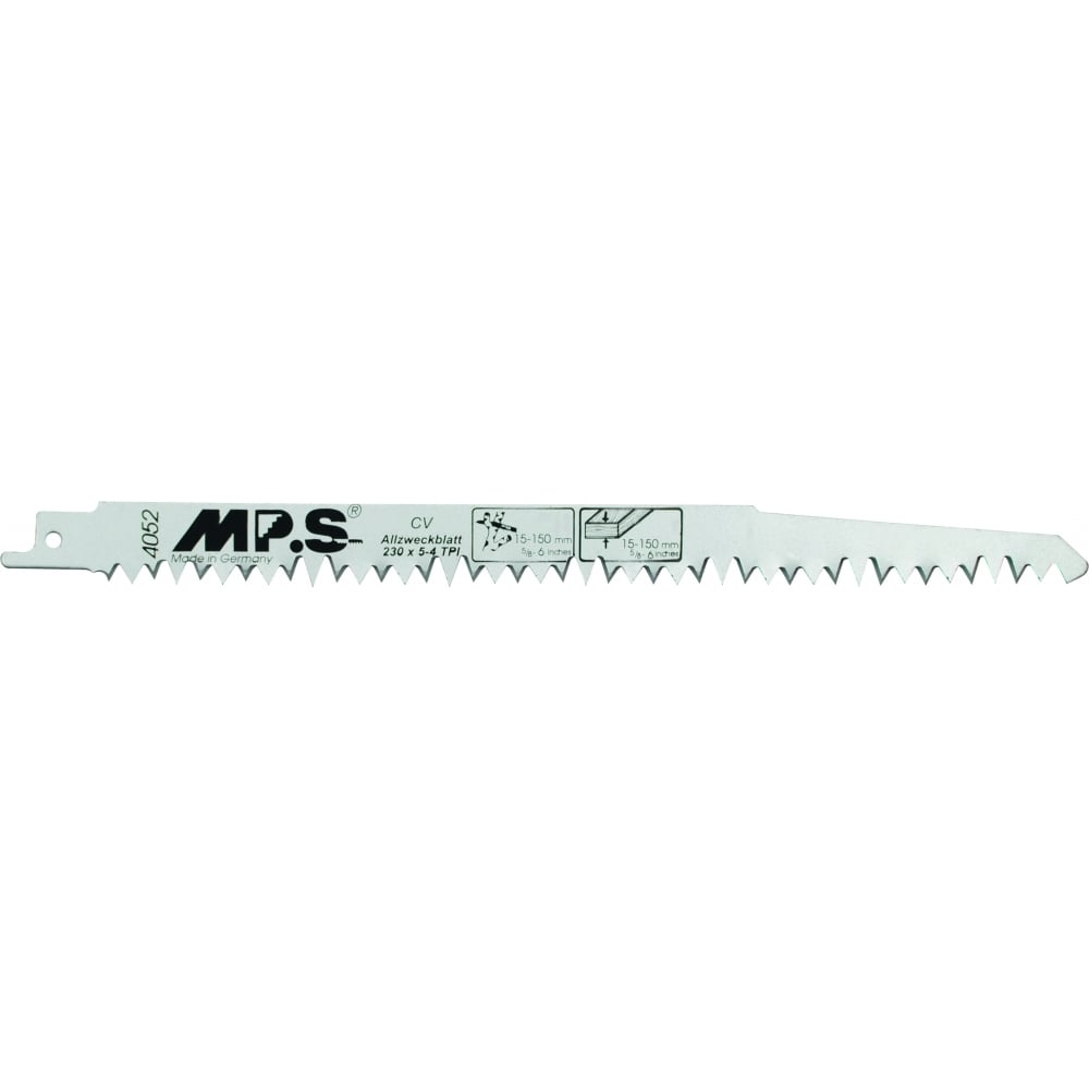Universal Shank Jigsaw Blade Fast Wood Special V Tooth Up and Down Stroke Cutting (S1531L) Pack of 5