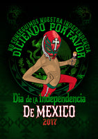 Mexican independence day T-Shirt for sale.