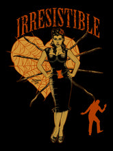 Black Widow Irresistible Vintage Look short sleeve t-shirt