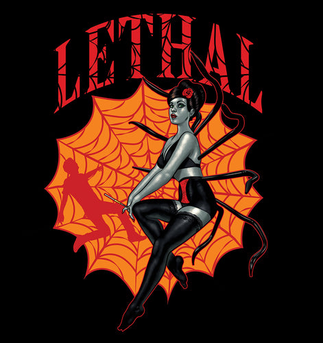 Black Widow Lethal Dark short sleeve t-shirt