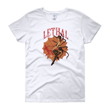 Black Widow Lethal Vintage Look short sleeve t-shirt
