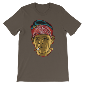 Frankenstein Cholo Solo Unisex short sleeve t-shirt