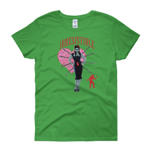 Women's green T-SHIRT