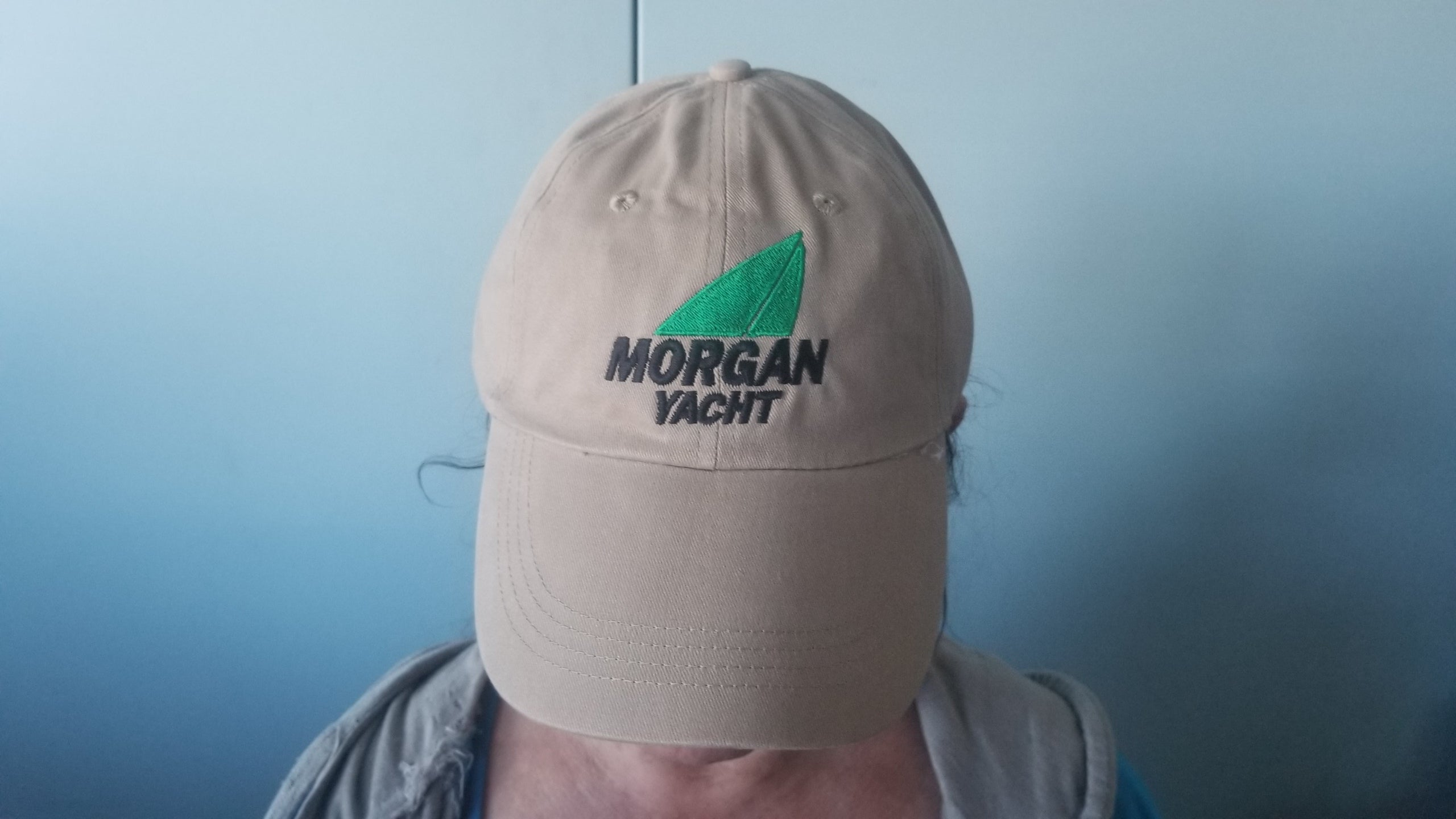 Morgan Yacht Embroidered Khaki Cap