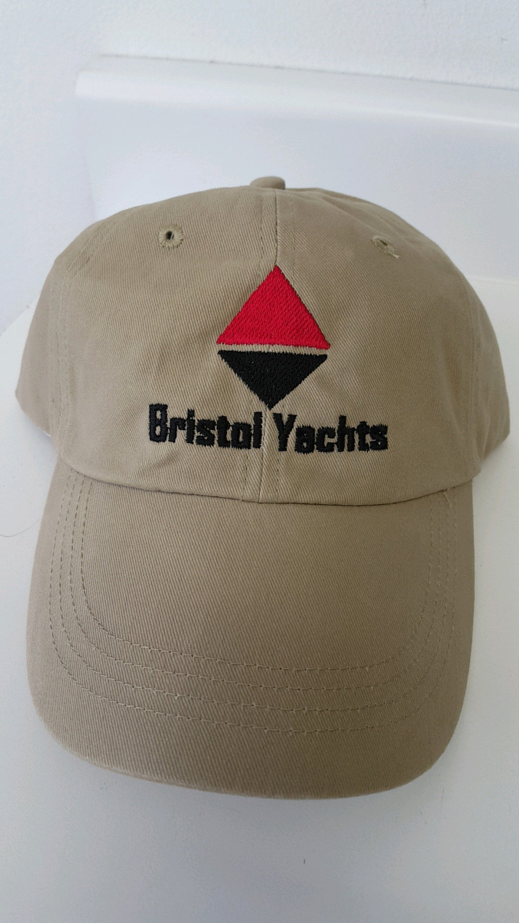 Bristol Yachts Embroidered Khaki Cap