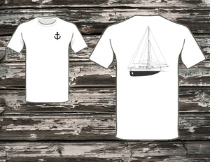 Bristol Channel Cutter 28 Lyle Hess Design T-Shirt
