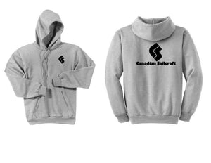 Canadian Sailcraft Ash Grey Hoodie