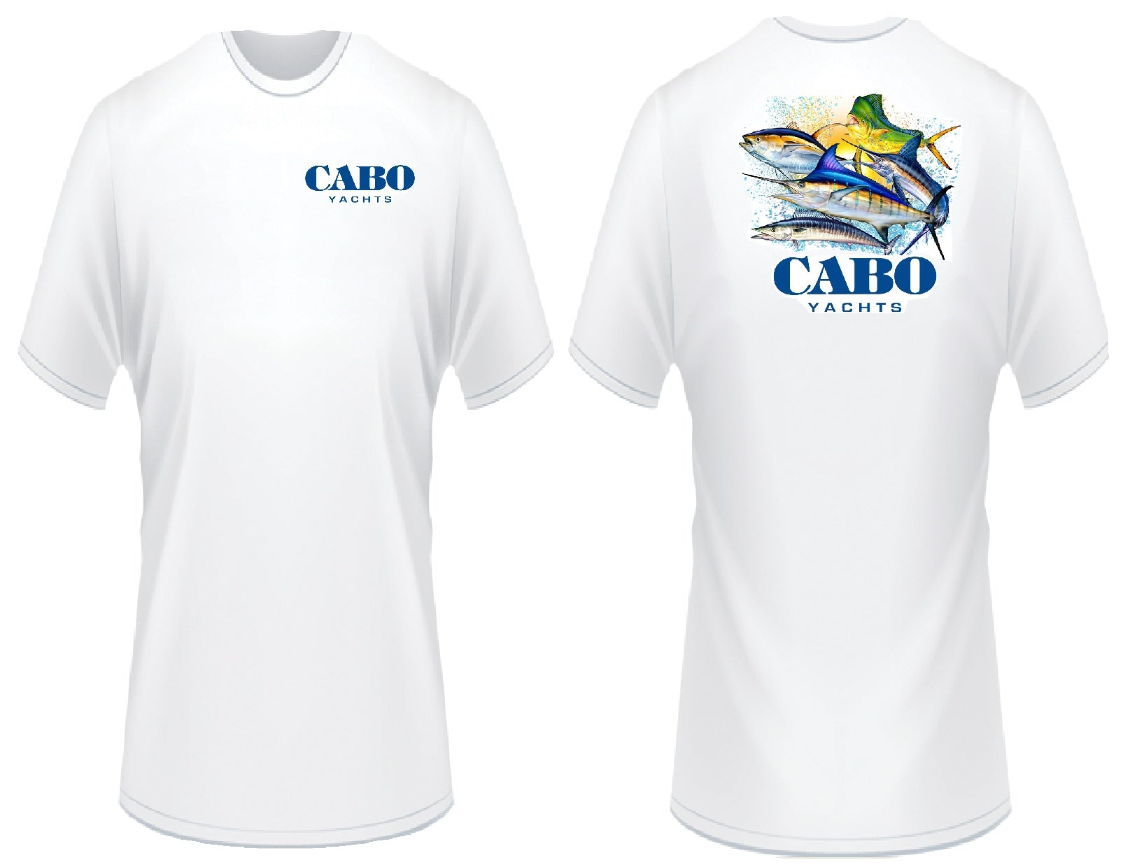 Cabo Yachts Ocean T-Shirt