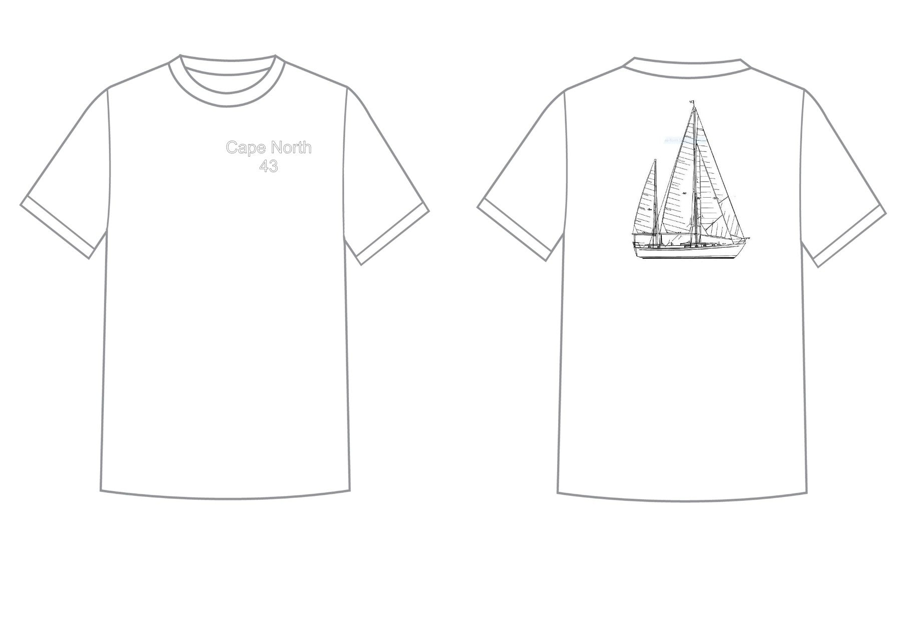 Cape North 43 T-Shirt