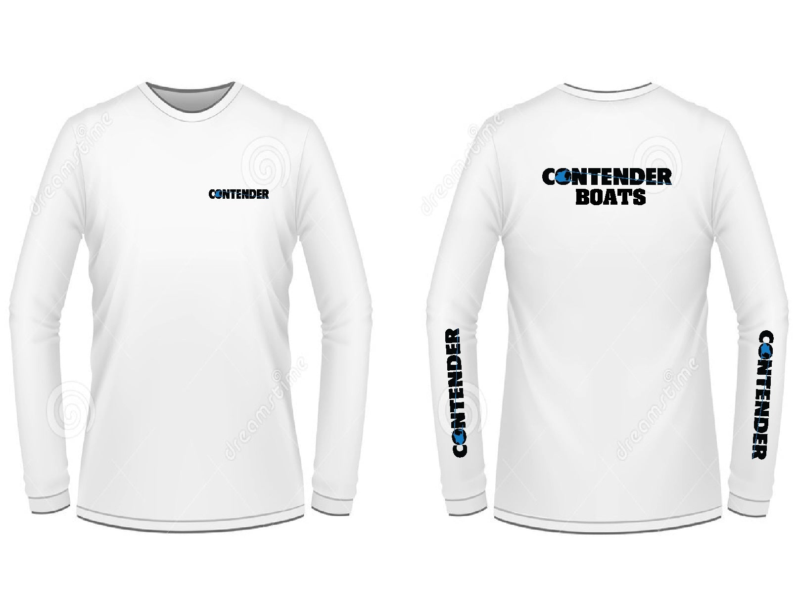 Contender Boats Long Sleeve T-Shirt