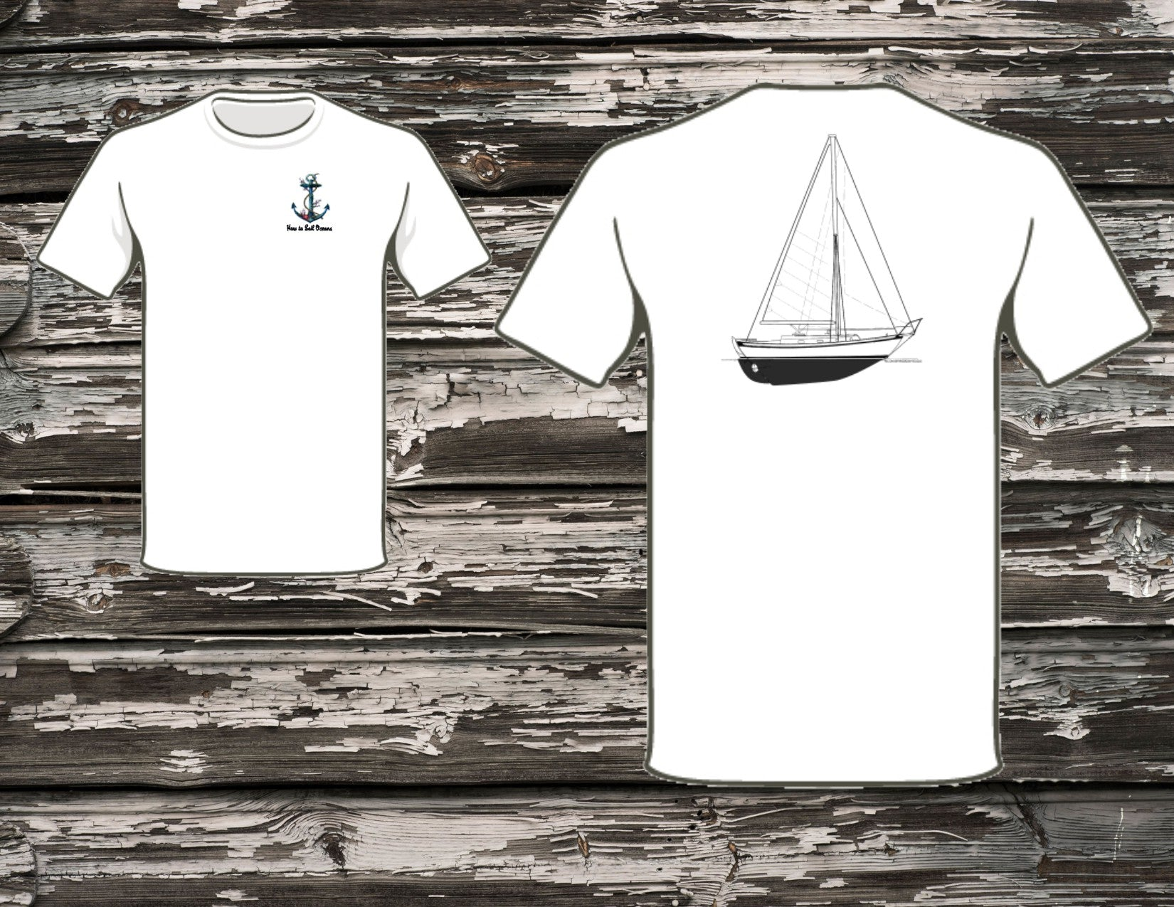 How to Sail Oceans Southern Cross 31 T-Shirt