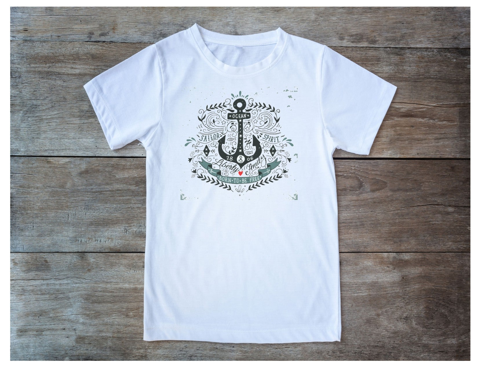A Ocean Born to be Free T-Shirt