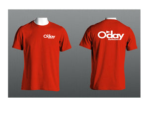 Oday T-Shirt Black Red Navy