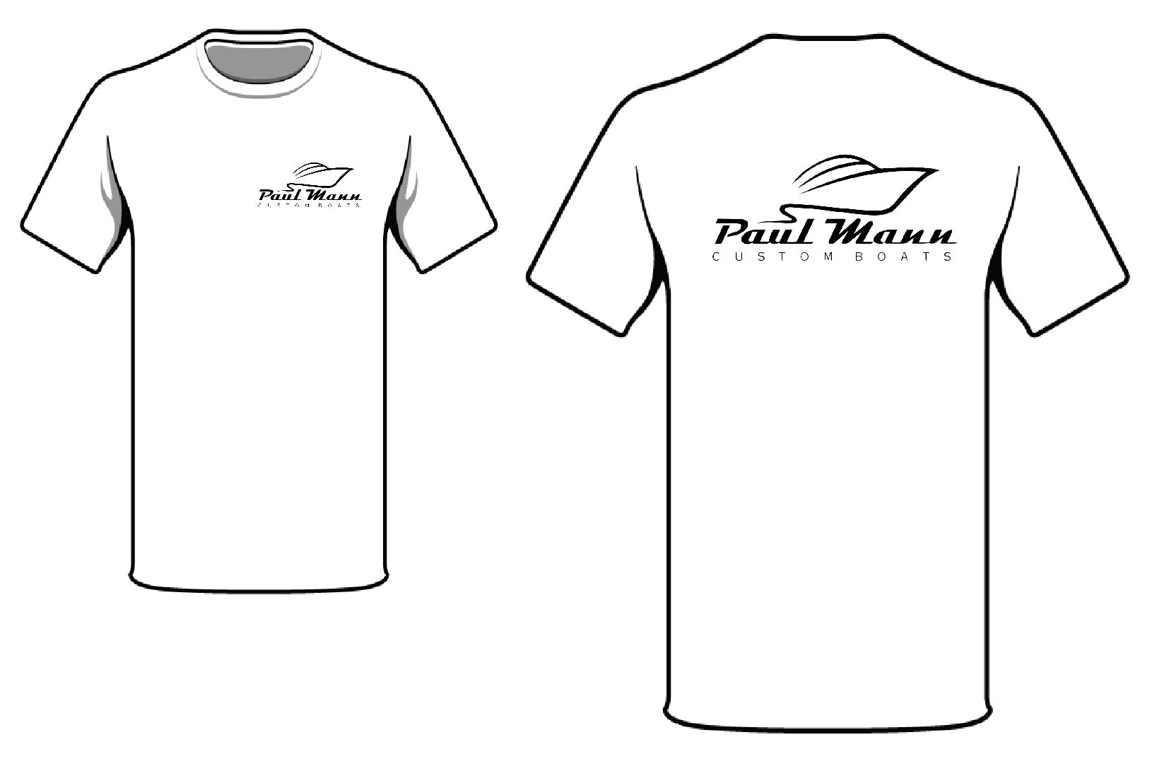 Paul Mann Boats T-Shirt