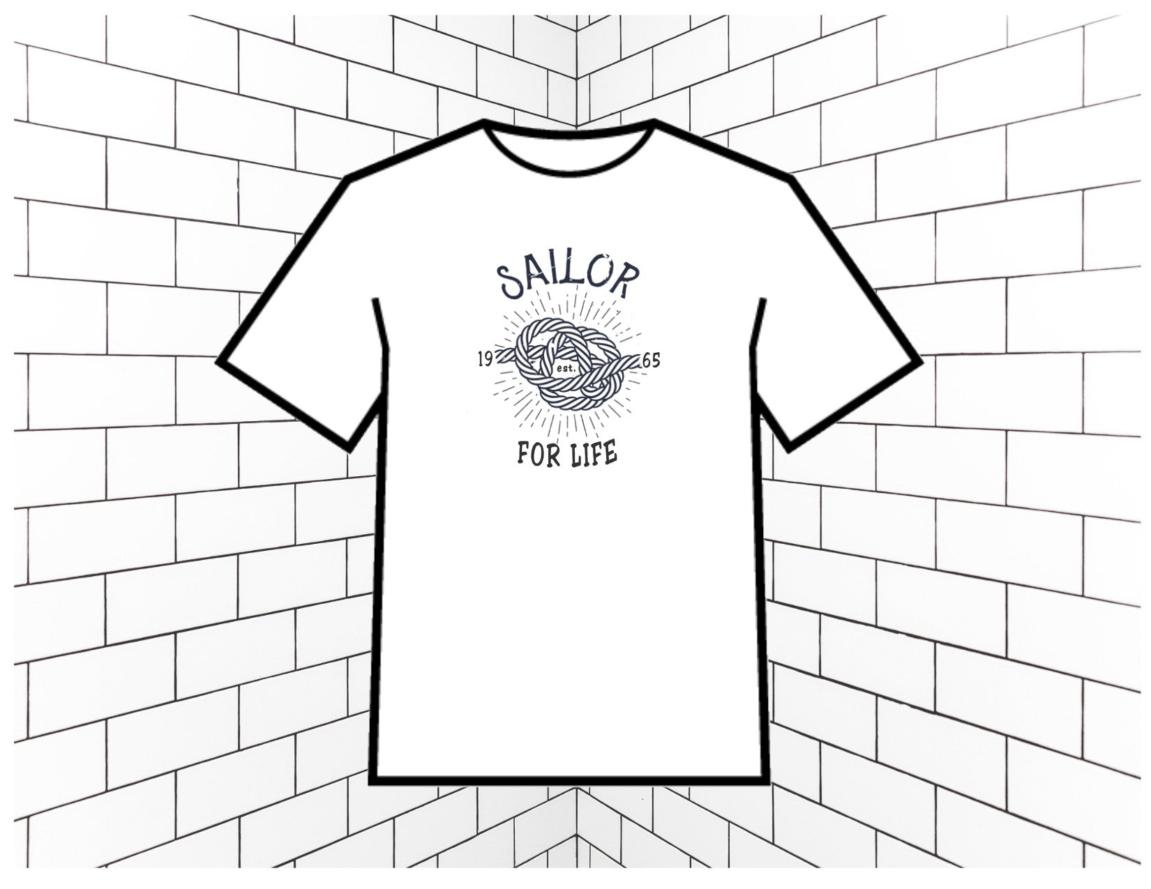 A Sailor for Life T-Shirt