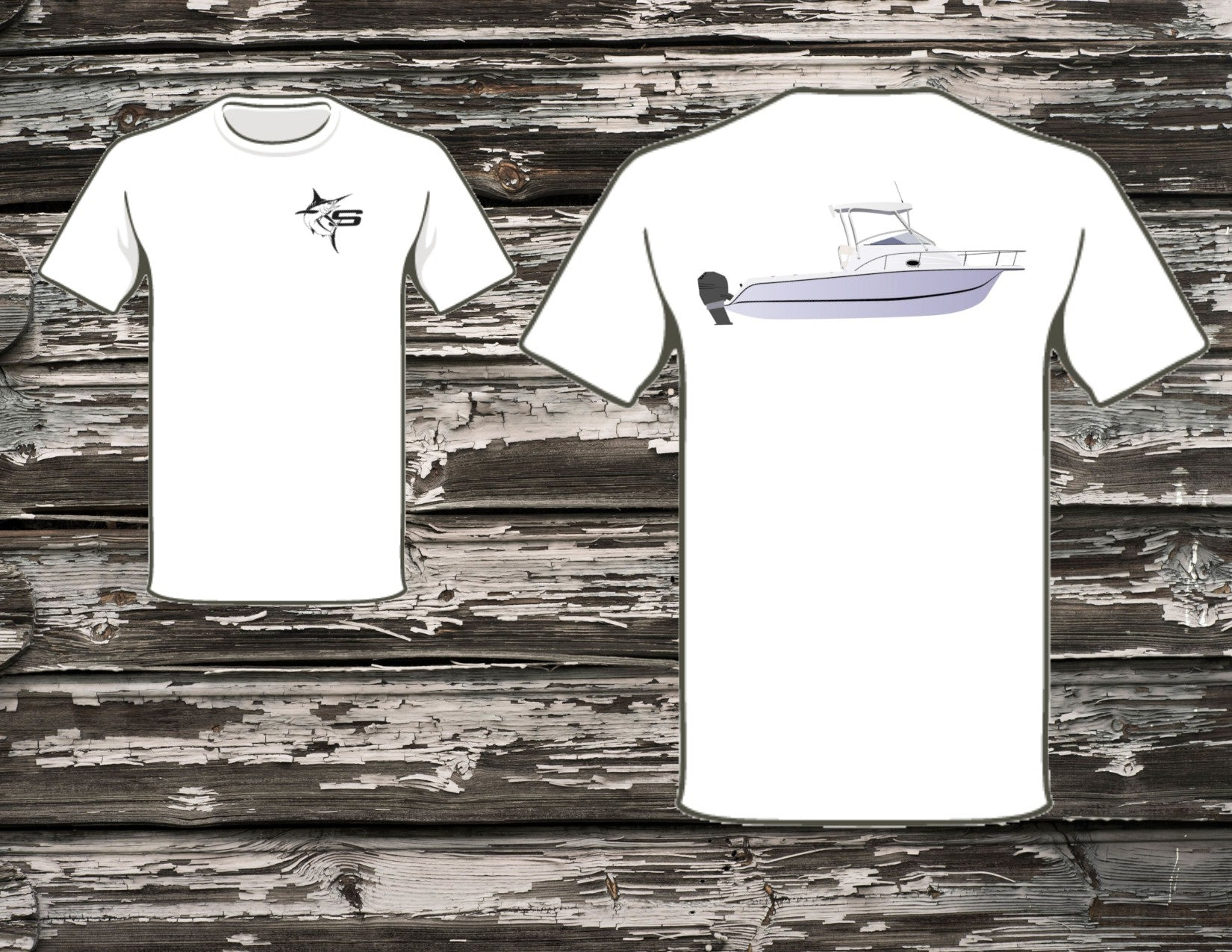 Striper 22 Boat T-Shirt