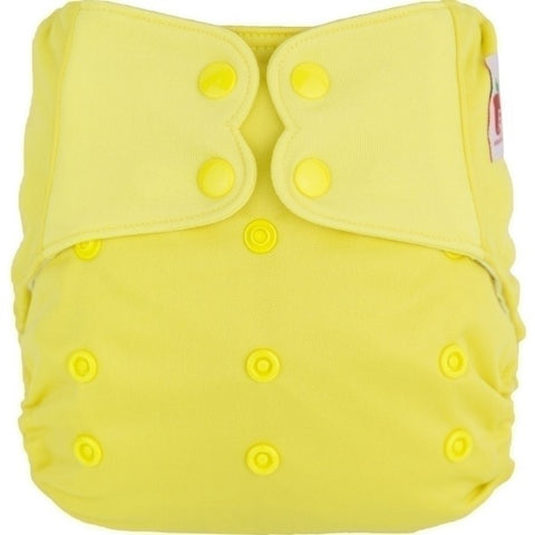 Elf AIO Solid Diaper - Yellow