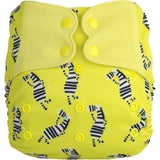 Elf AIO Diaper - Yellow Zebra