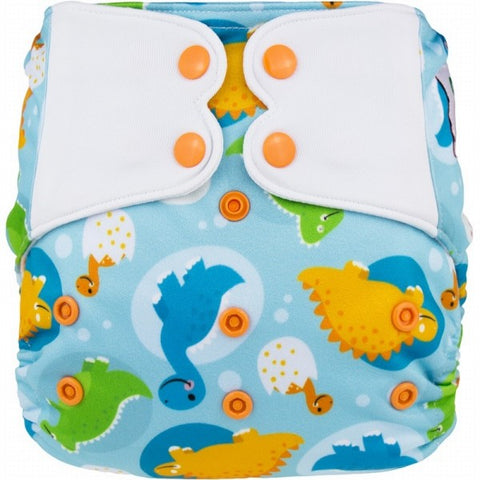 Elf AIO Diaper w pocket - Dinosaur