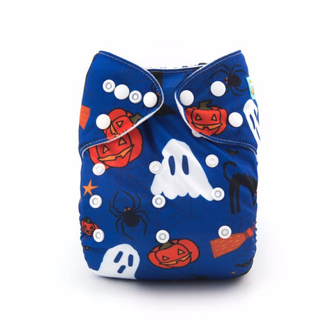 Alva Holiday Pocket Diaper - Ghost Witch