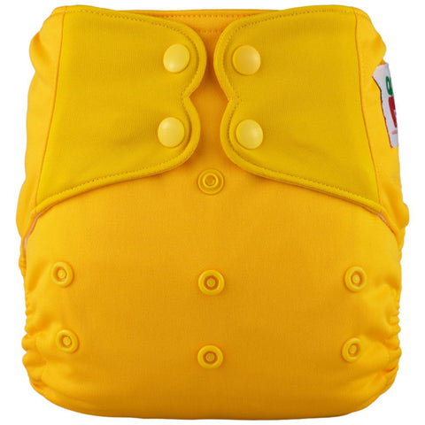 AIO Solid Diapers w pocket- GOLD