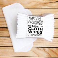 12 Reusable Wipes - Bamboo