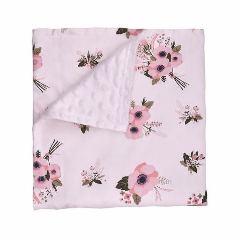 100% Cotton Bubble Dot Receiving Blanket