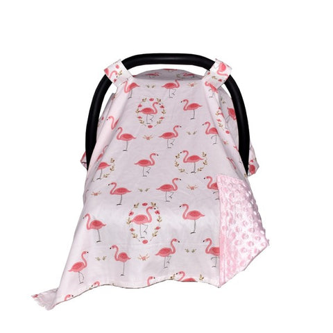 Cotton Baby Car Canopy Carseat Cover