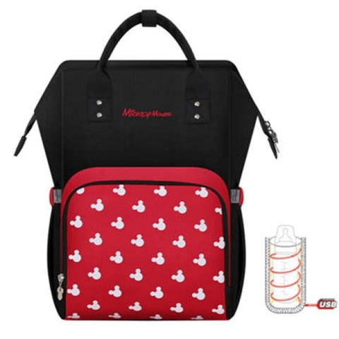 Disney Authorized Backpack Diaper Bag