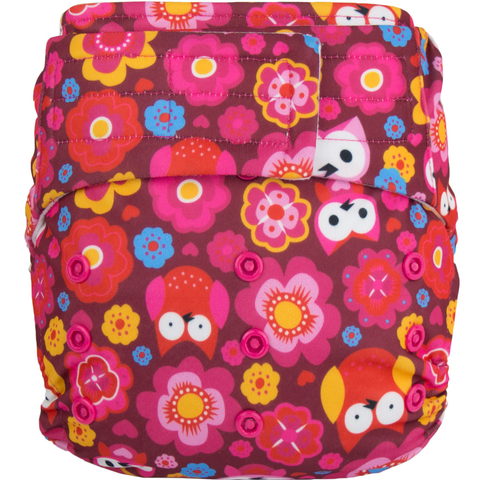 Elf Velcro OS Pocket - Pink Owl