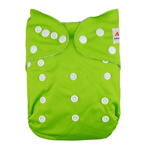 Alva OS Pocket Diapers Solid