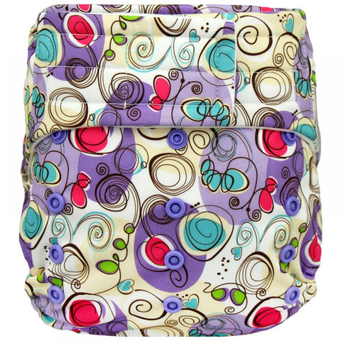 Elf Velcro OS Pocket - Swirls