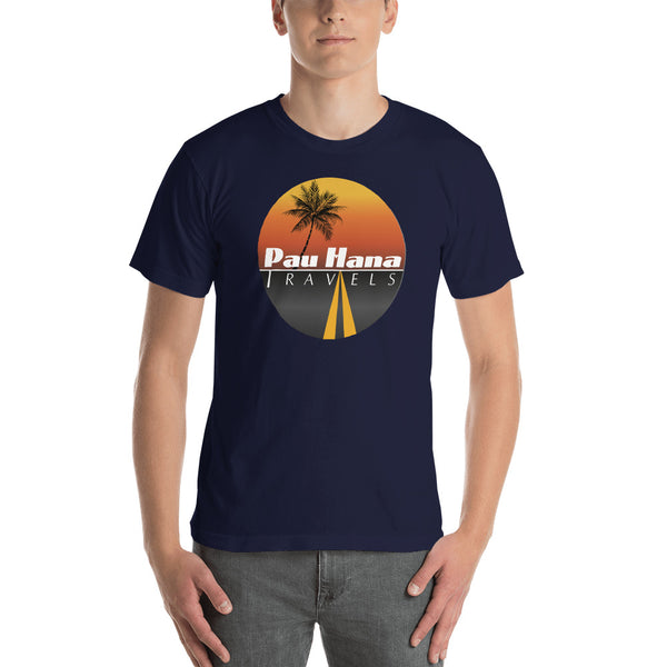 Pau Hana Travels Premium Tee for Him (USA)