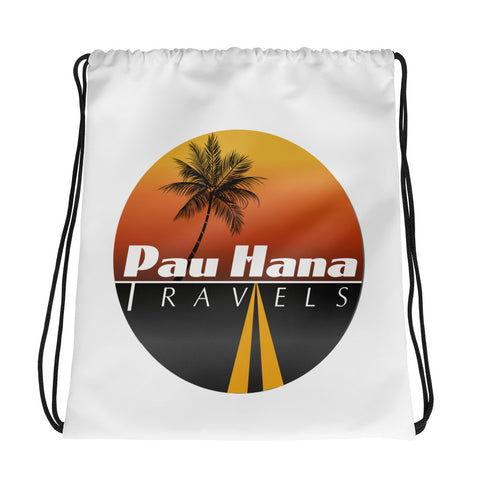 Pau Hana Drawstring Gym/Beach Bag
