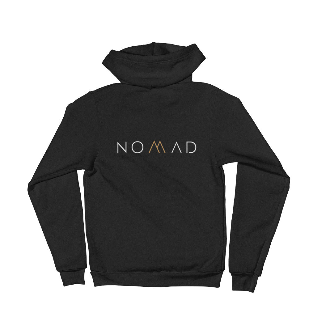 Authentic NoMad Collection Unisex Zip Up Hoodie (USA)