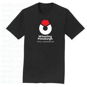 Wheeling Pittsburgh Steel Black Tshirt