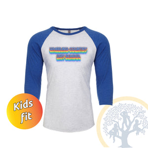 WCDS Retro Kids Baseball T