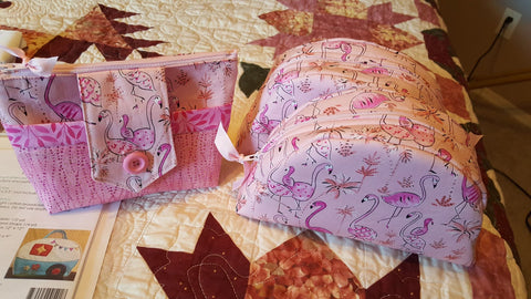 awesome make-up bags by Kathleen