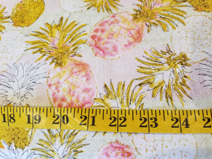 Pineapple Paradise Fabric