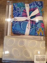 Load image into Gallery viewer, Kaffe Fassett Sliced Charm Table Runner Kit - Peacock