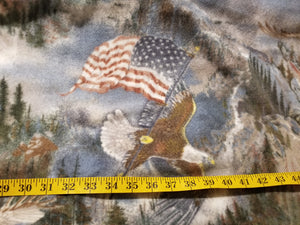 Eagle Fleece Fabric