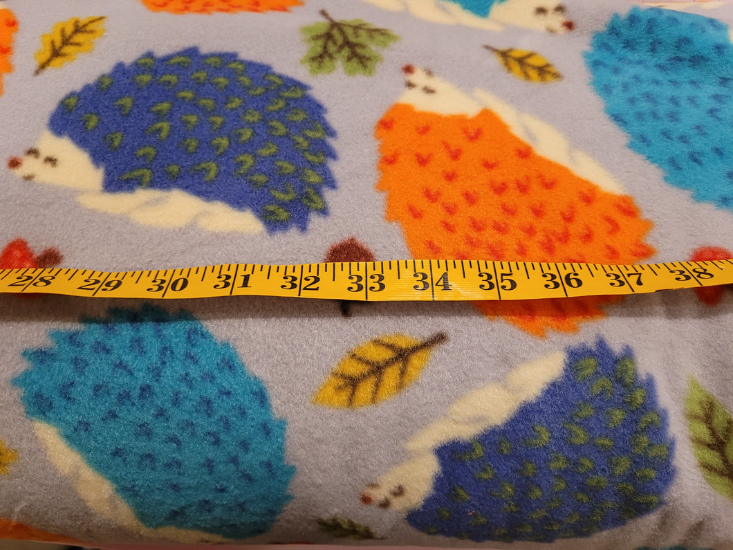 Baum Hedgehog Fleece Fabric