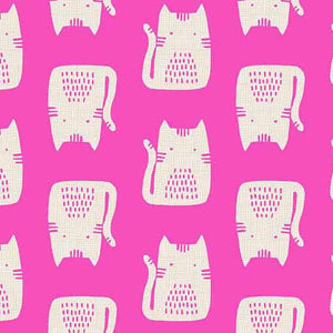 Andover Cats And Dogs Cats - Pink